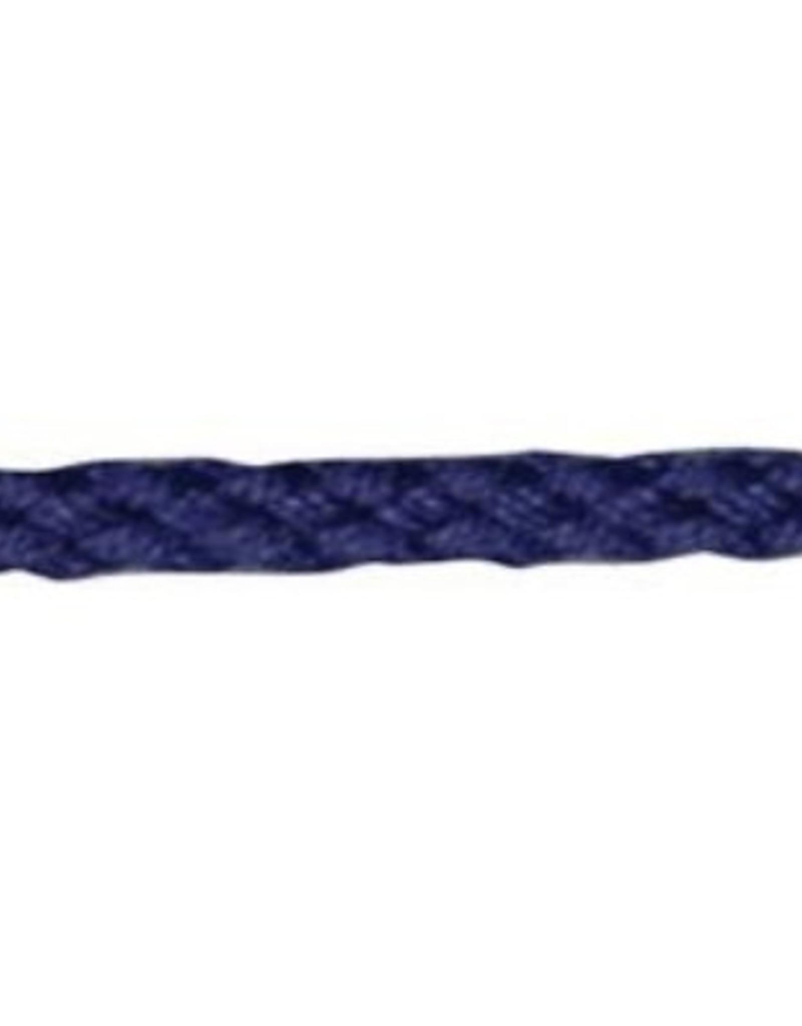 ANORAK KOORD 5mm marine blauw
