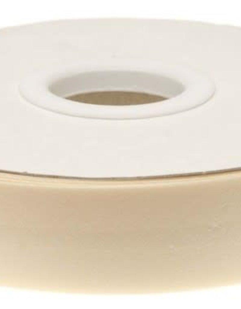 Biaisband 20mm gevouwen creme