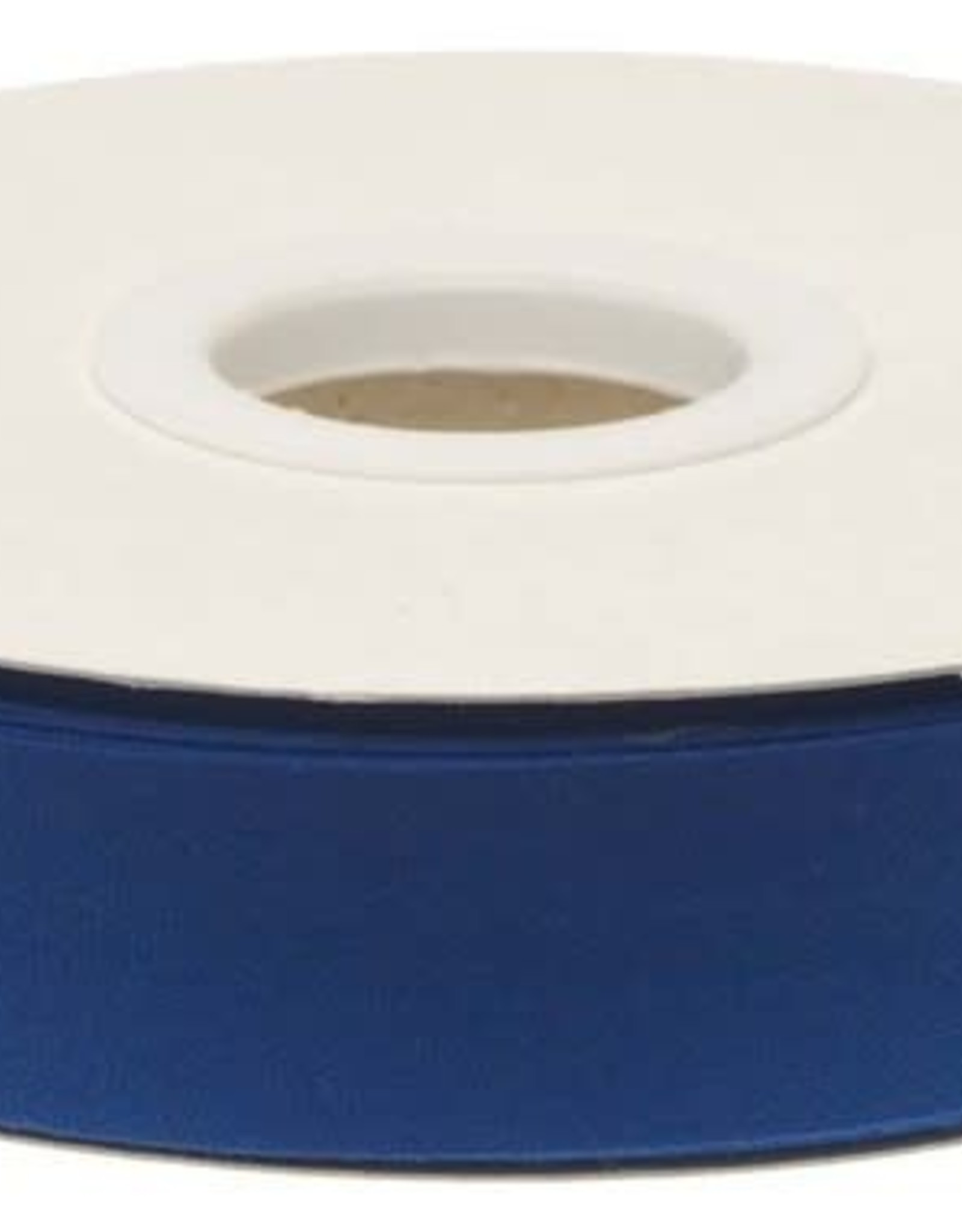 Biaisband 20mm gevouwen kobalt blauw