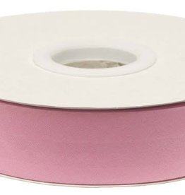 Biaisband 20mm gevouwen roze