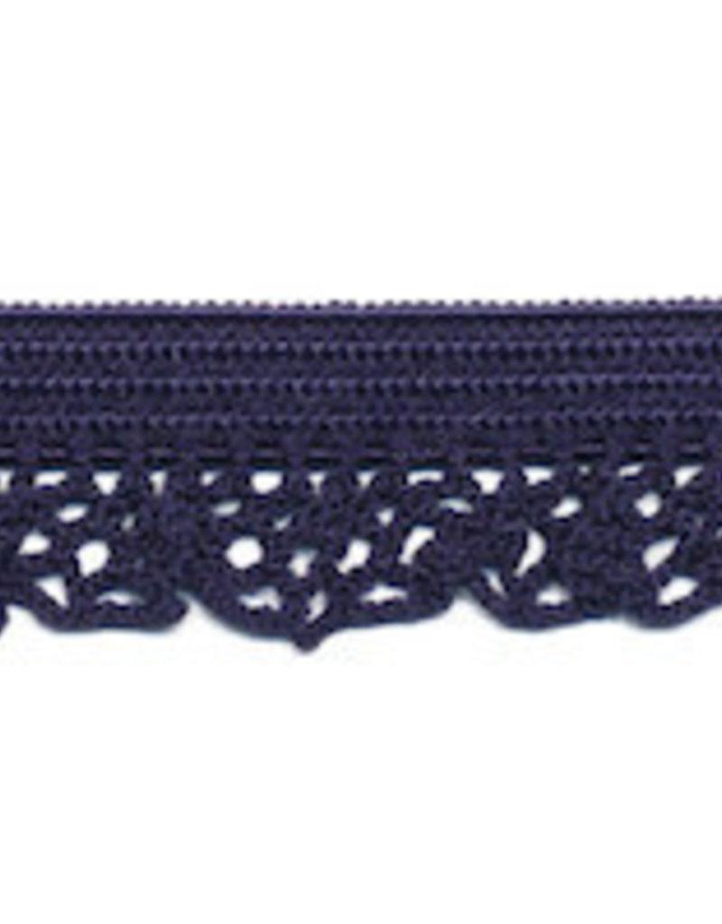 Kant elastisch 12mm donker blauw
