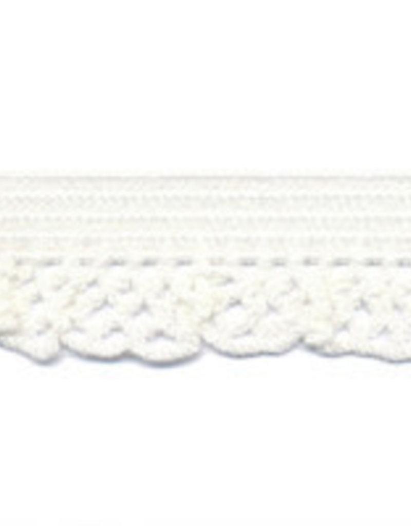 Kant elastisch 12mm wit