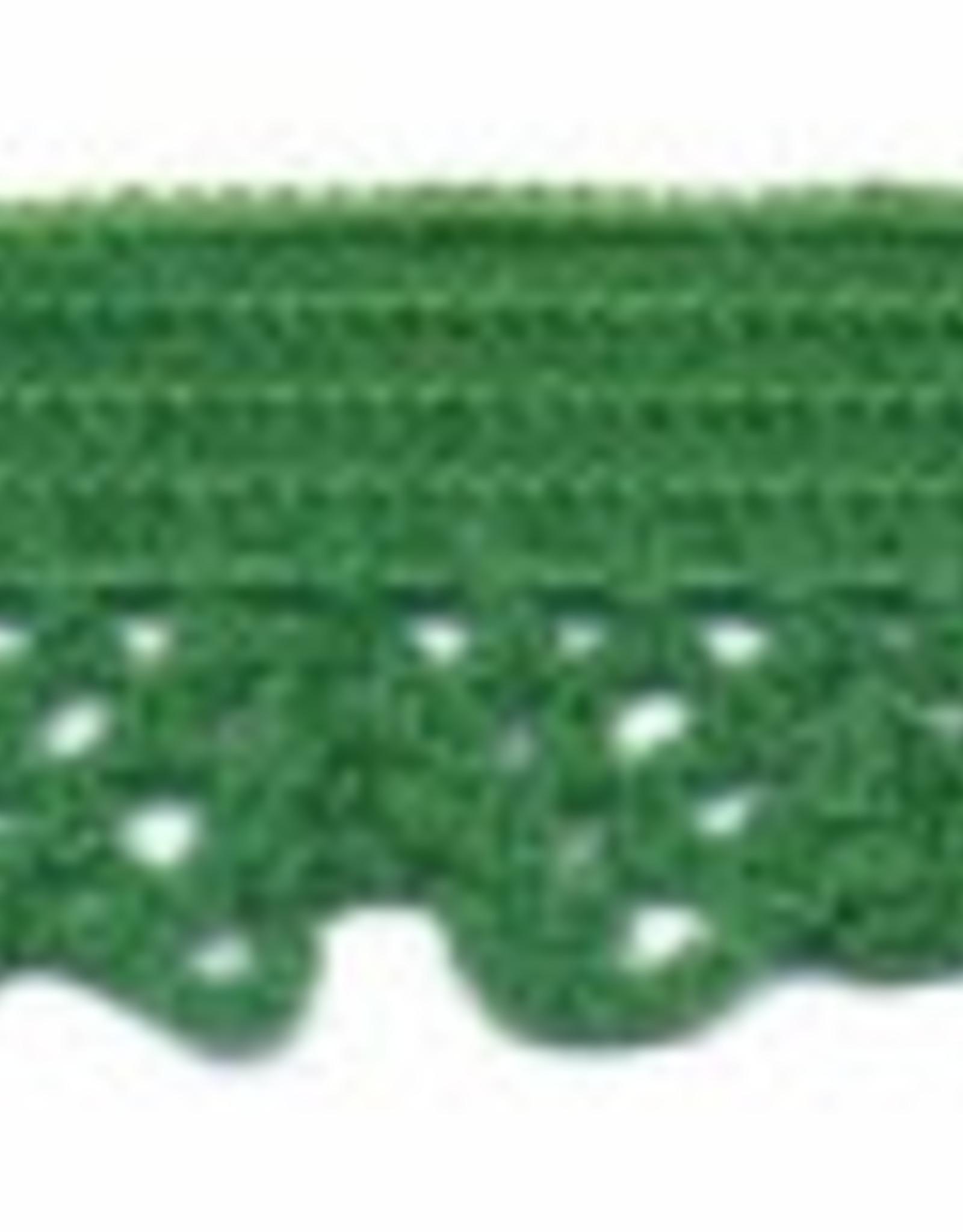 Kant elastisch 12mm groen