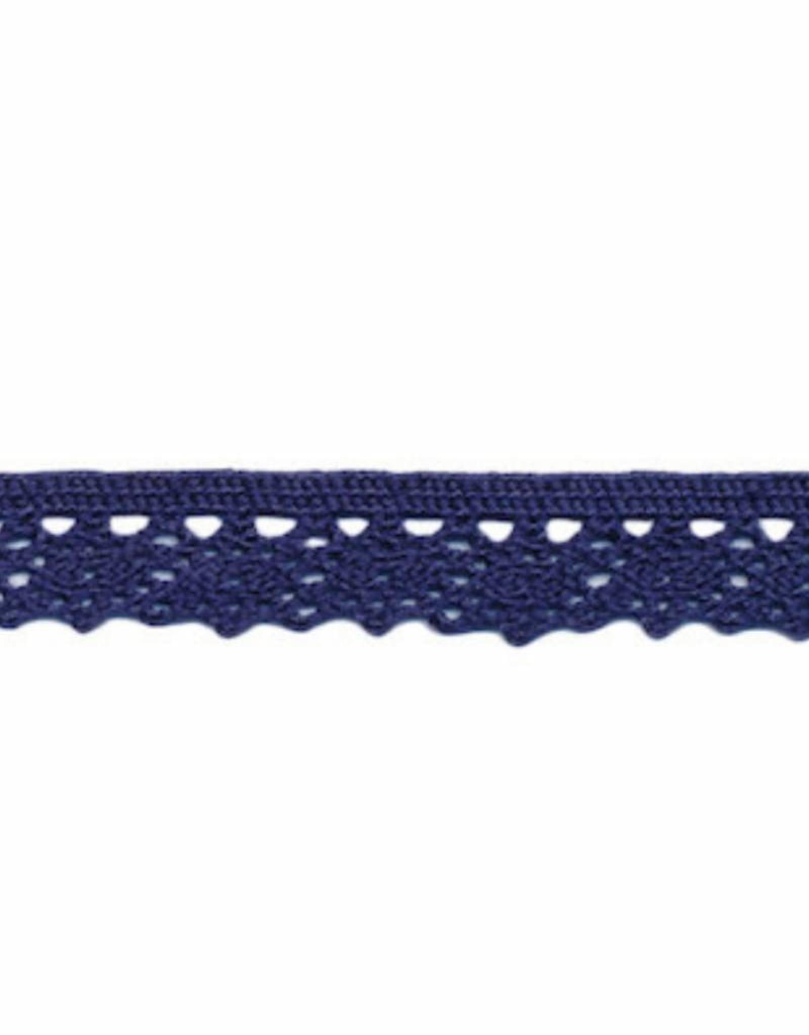 Kant 12mm donker blauw