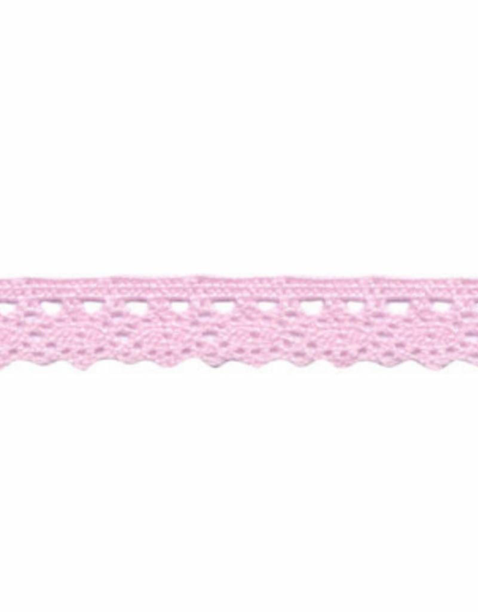 Kant 12mm licht roze