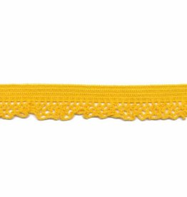 Kant elastisch 12mm geel