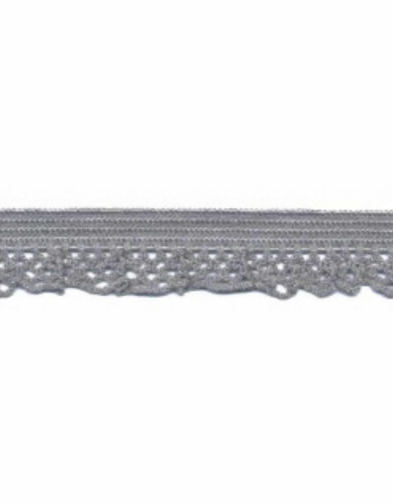 Kant elastisch 12mm grijs