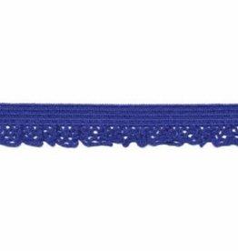 Kant elastisch 12mm kobalt blauw