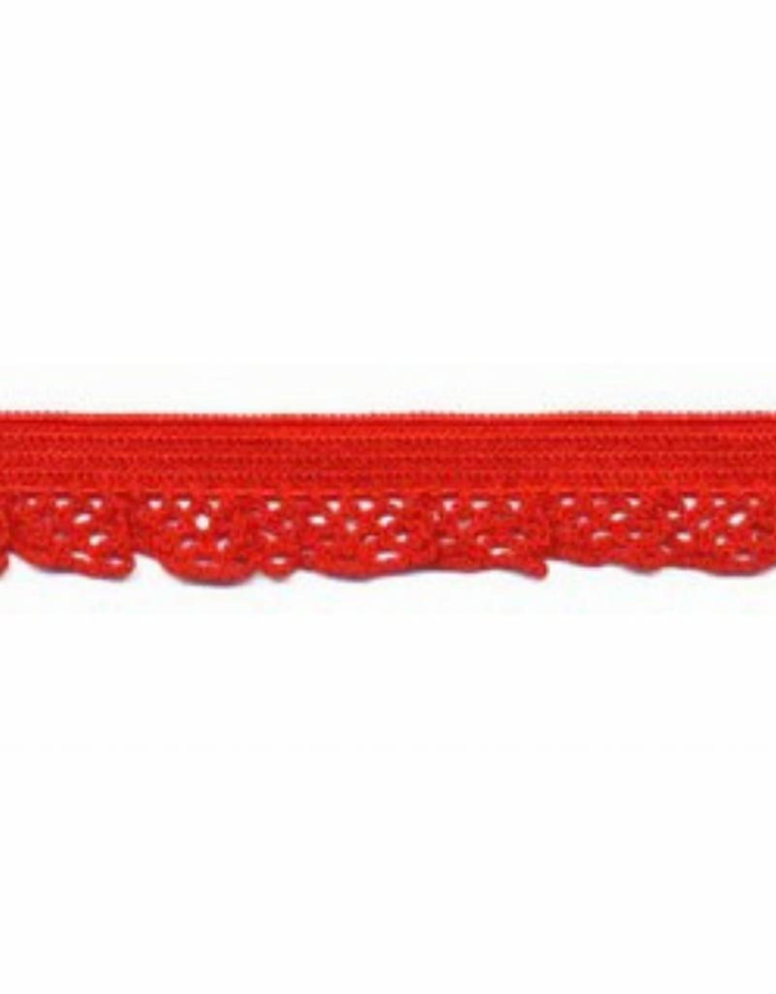Kant elastisch 12mm rood