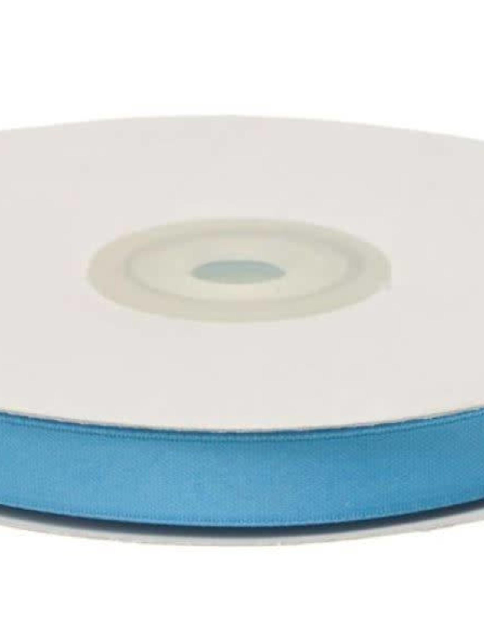 Satijnband 10mm aqua