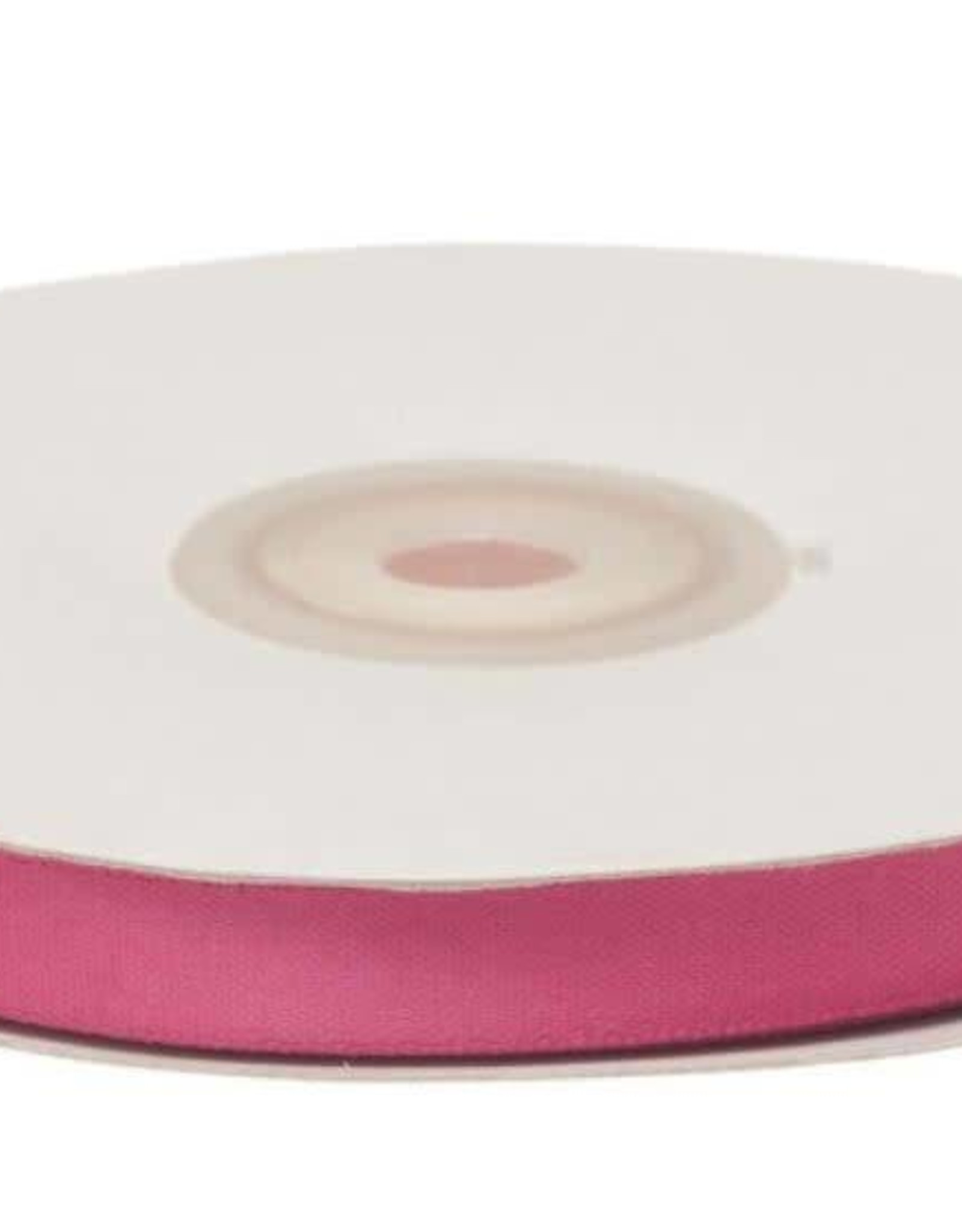 Satijnband 10mm fuchsia