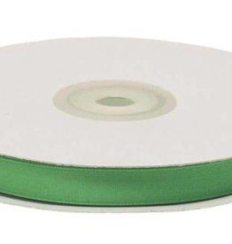Satijnband 10mm groen