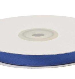 Satijnband 10mm kobalt blauw
