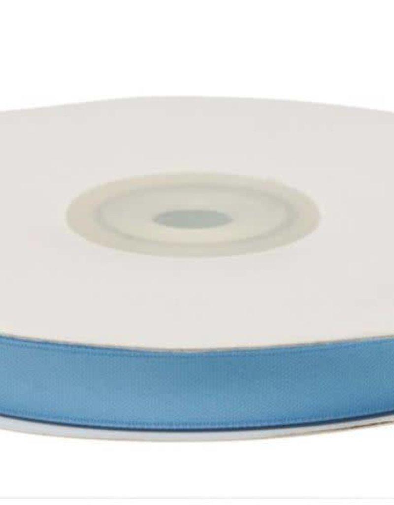 Satijnband 10mm licht blauw