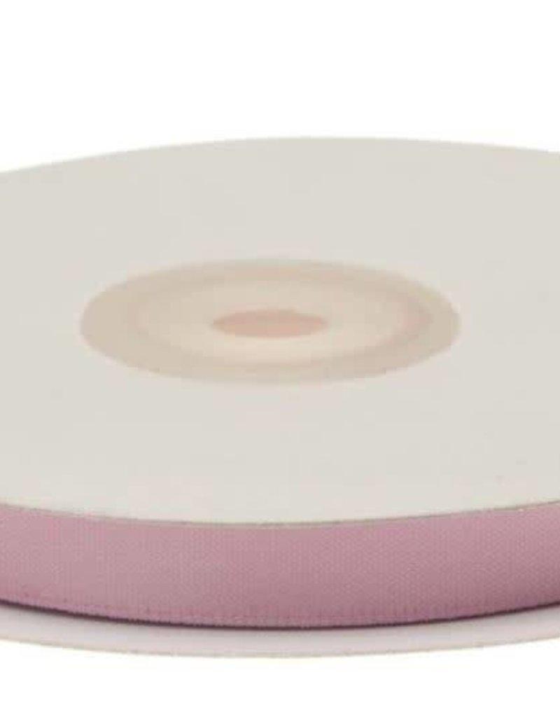Satijnband 10mm licht roze