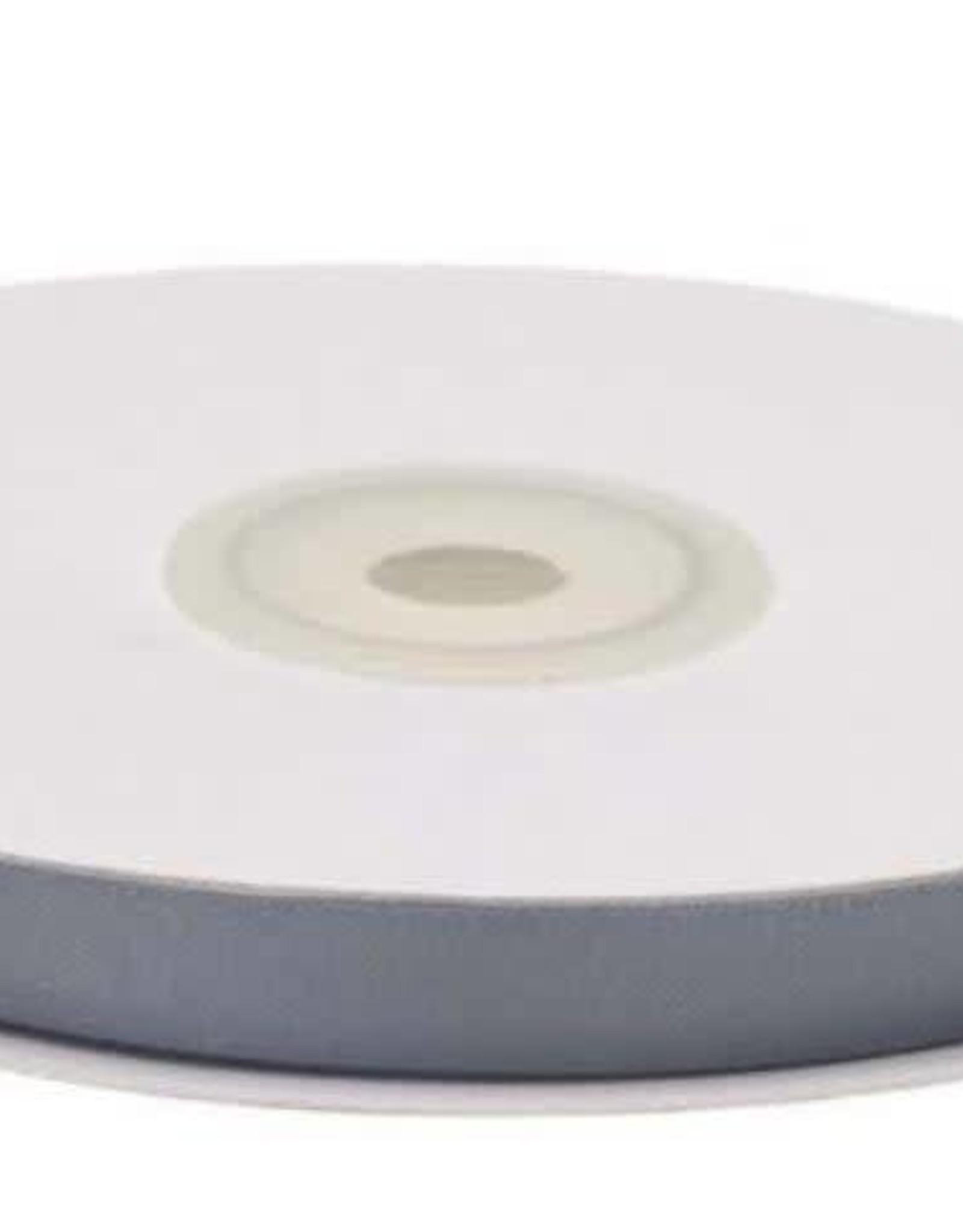 Satijnband 10mm middengrijs