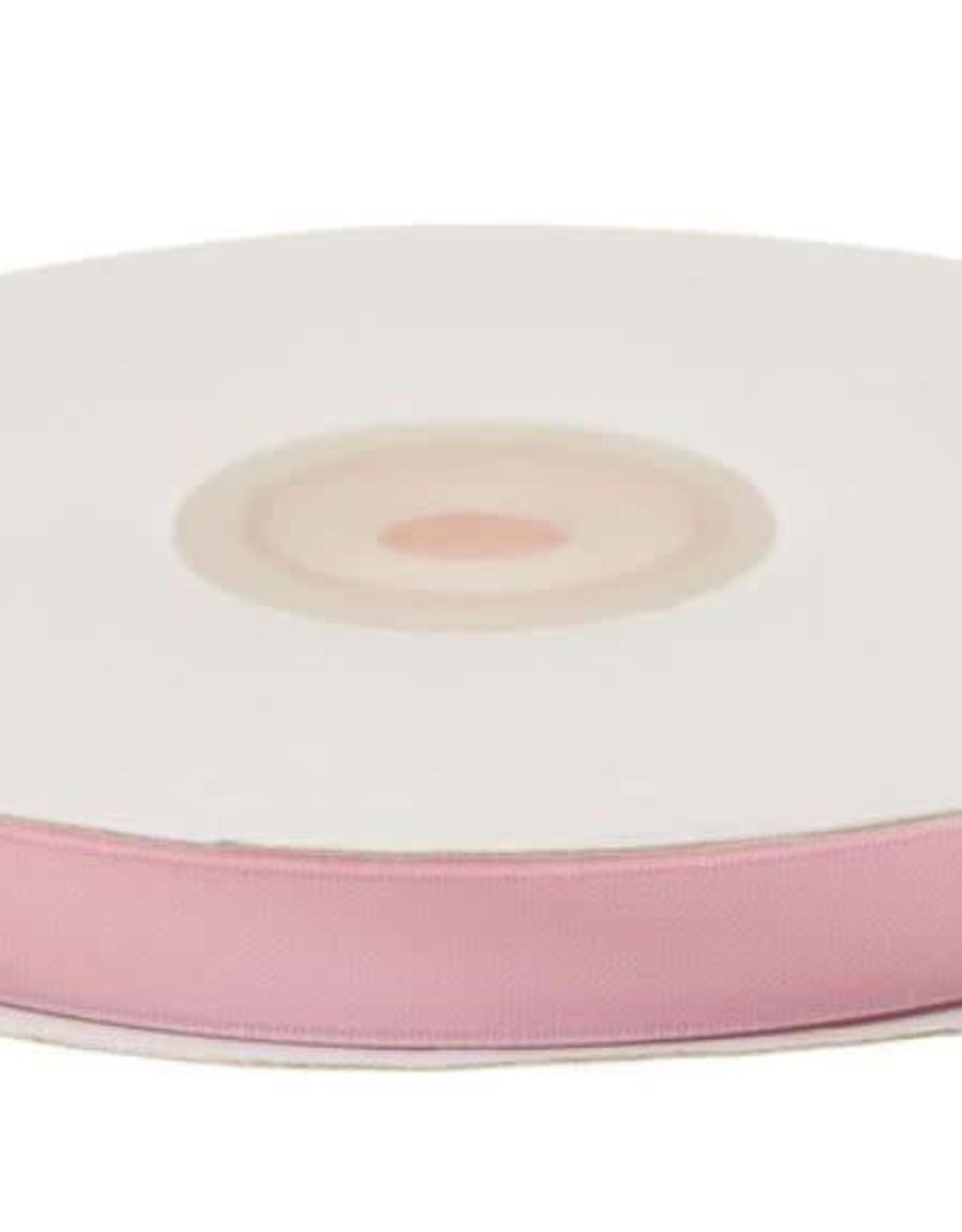 Satijnband 10mm roze