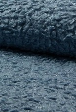 Bont Curly astrakan dusty blue