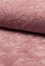 *Nylon cord creased oud roze