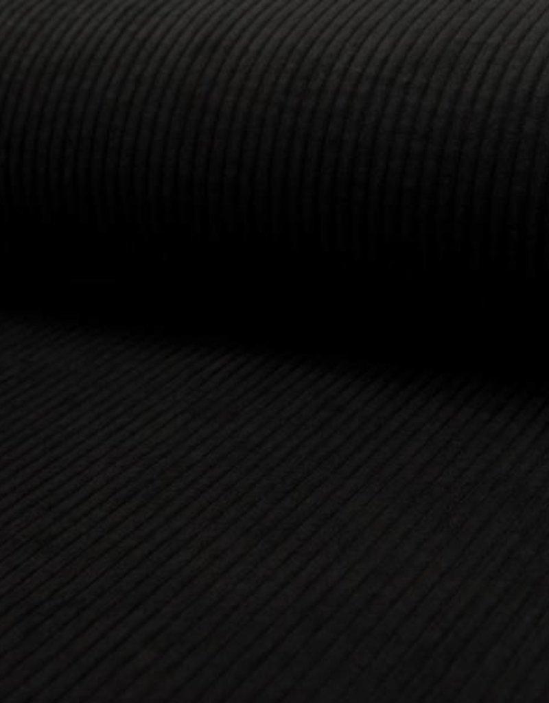Corduroy Ribfluweel velluto zwart