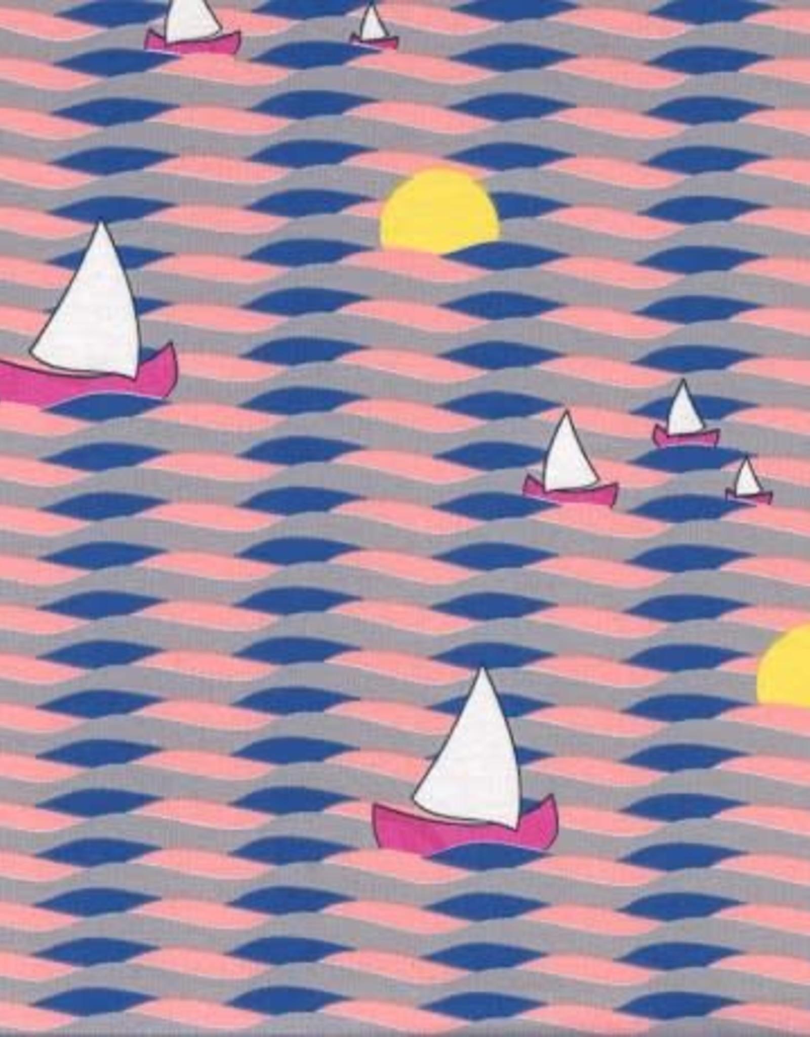 Swafing Tricot Katoen sundown roze