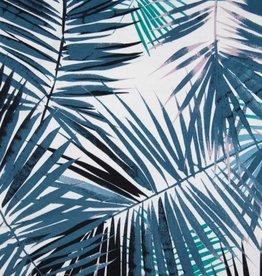 Viscose sp leaves blue