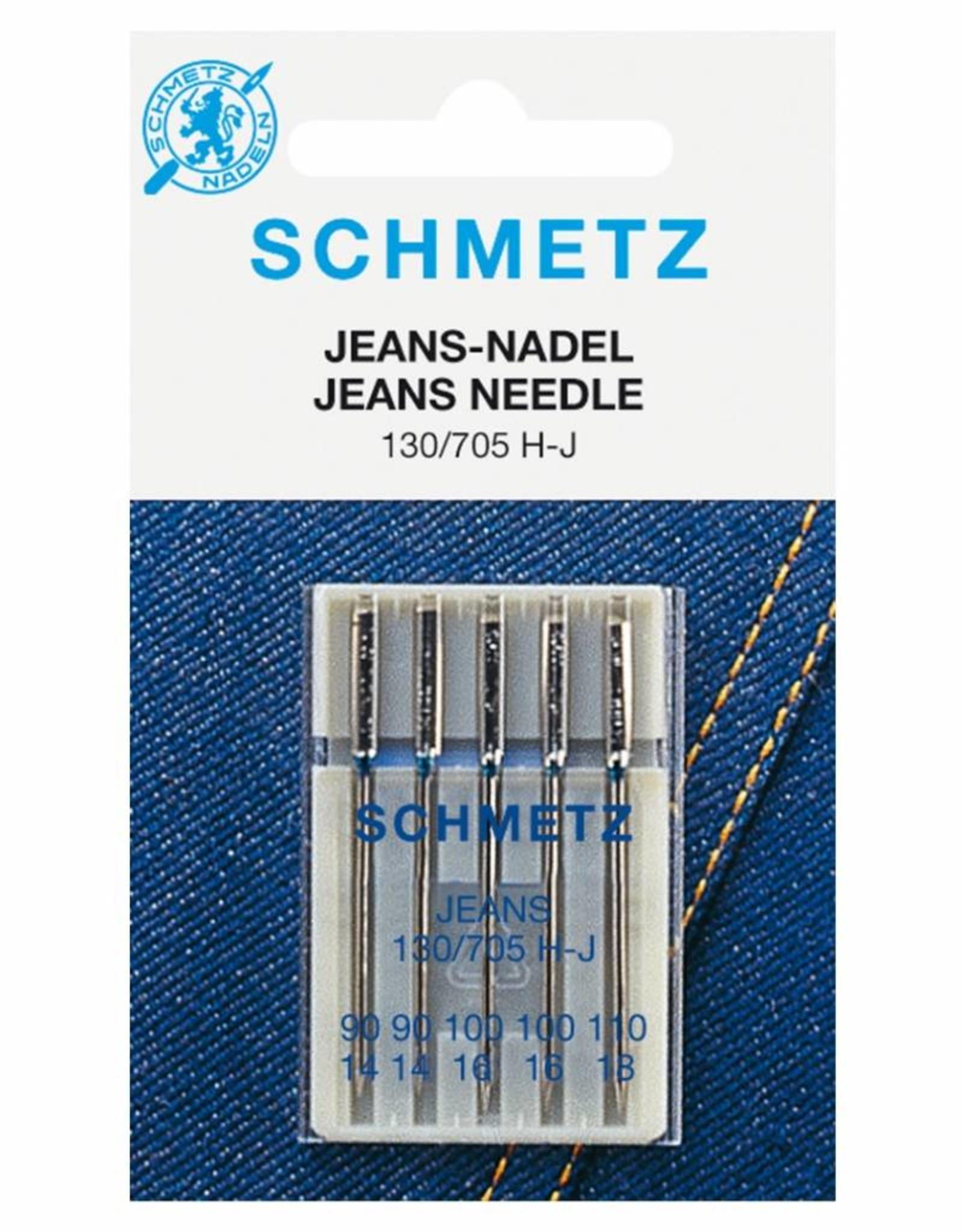 Schmetz MACHINENAALD JEANS ASS n°90-100-110 5st