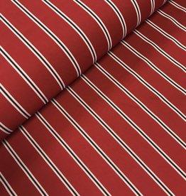 Gaucho stripes rood