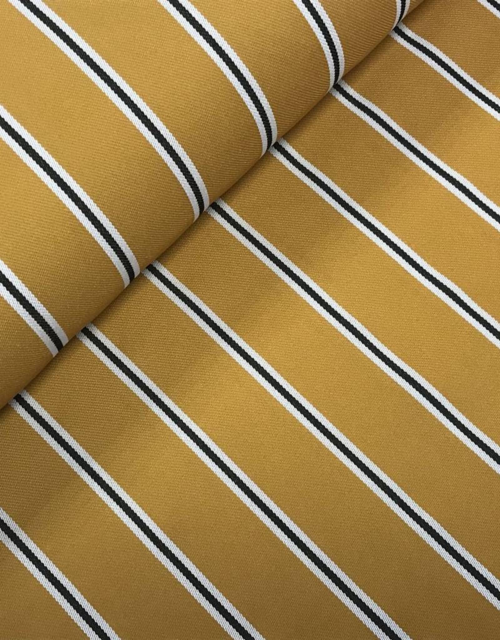 COUPON Gaucho stripes oker 105*140cm