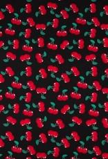 Poplin Cherry black