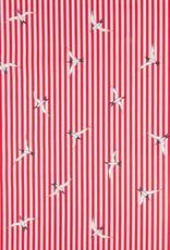 Poplin Gull red