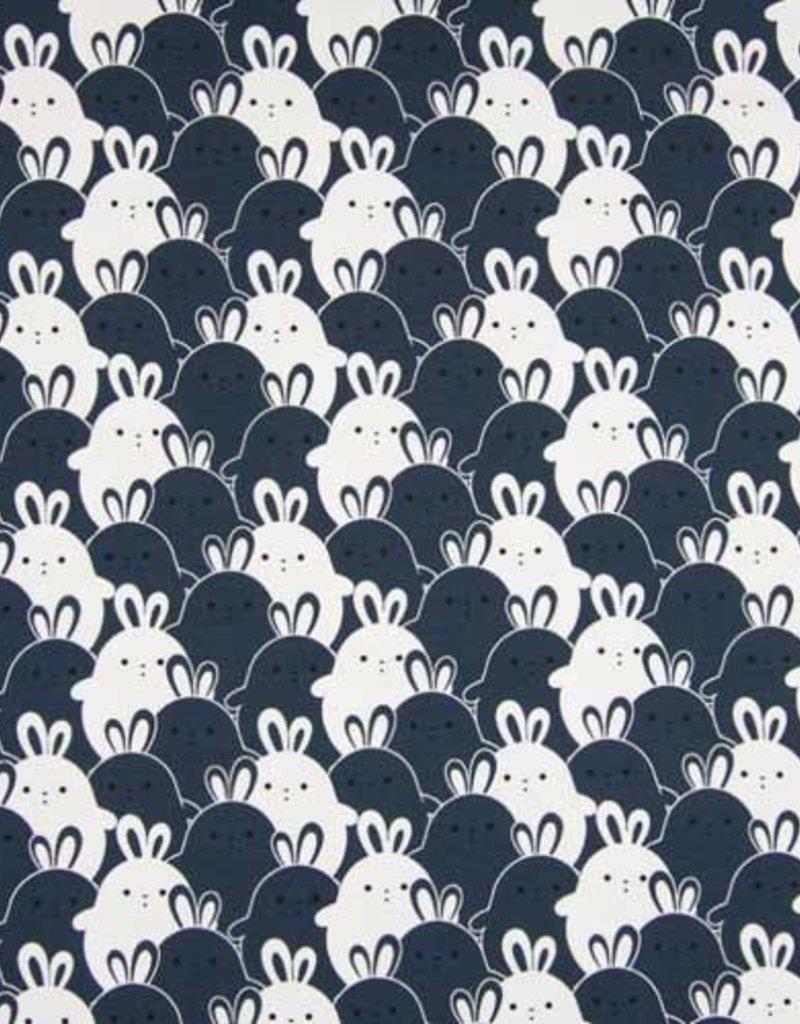 Qjutie Tricot katoen rabbit navi