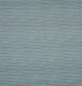 Tricot katoen blurry stripes