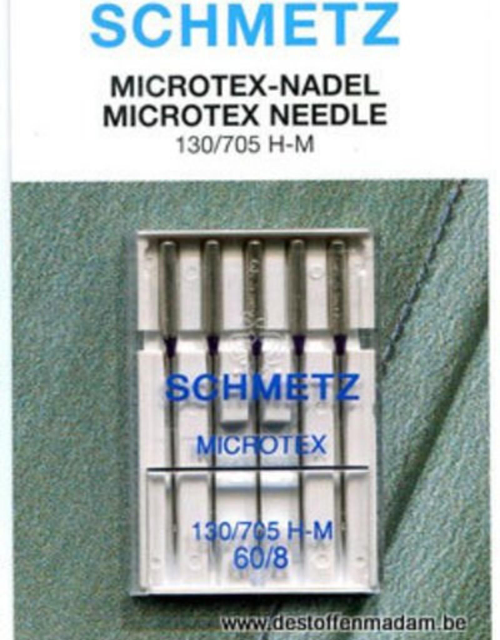 Schmetz MACHINENAALD MICROTEX n°60 5st