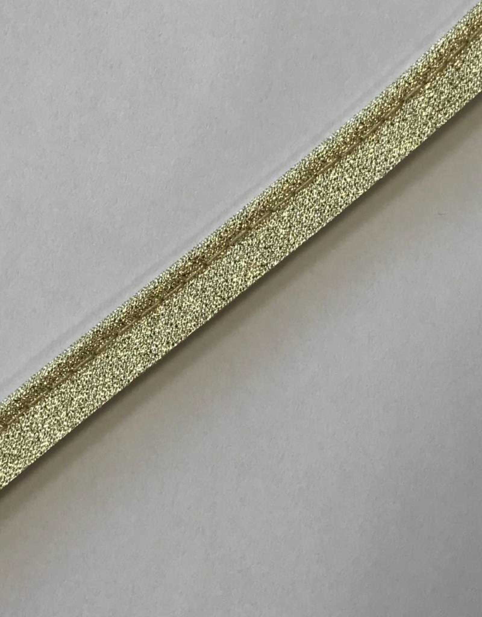 Paspel glitter goud
