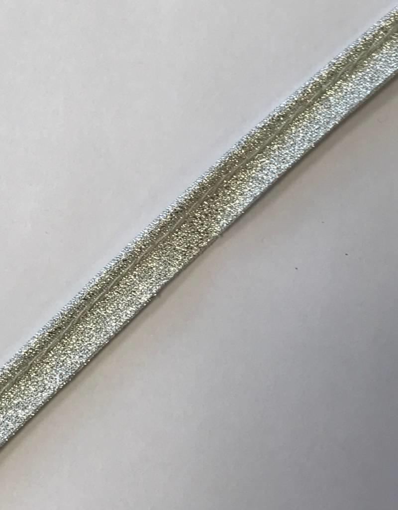 Paspel glitter zilver