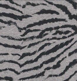 Swafing Jogging brushed, Zebra, grey