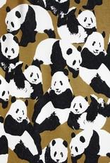 Jogging panda oker