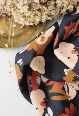 Atelier Brunette Rayon Viscose bruin gebloemd
