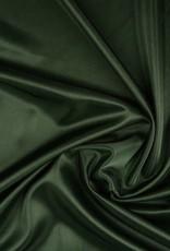 Charmeuse voering donker groen