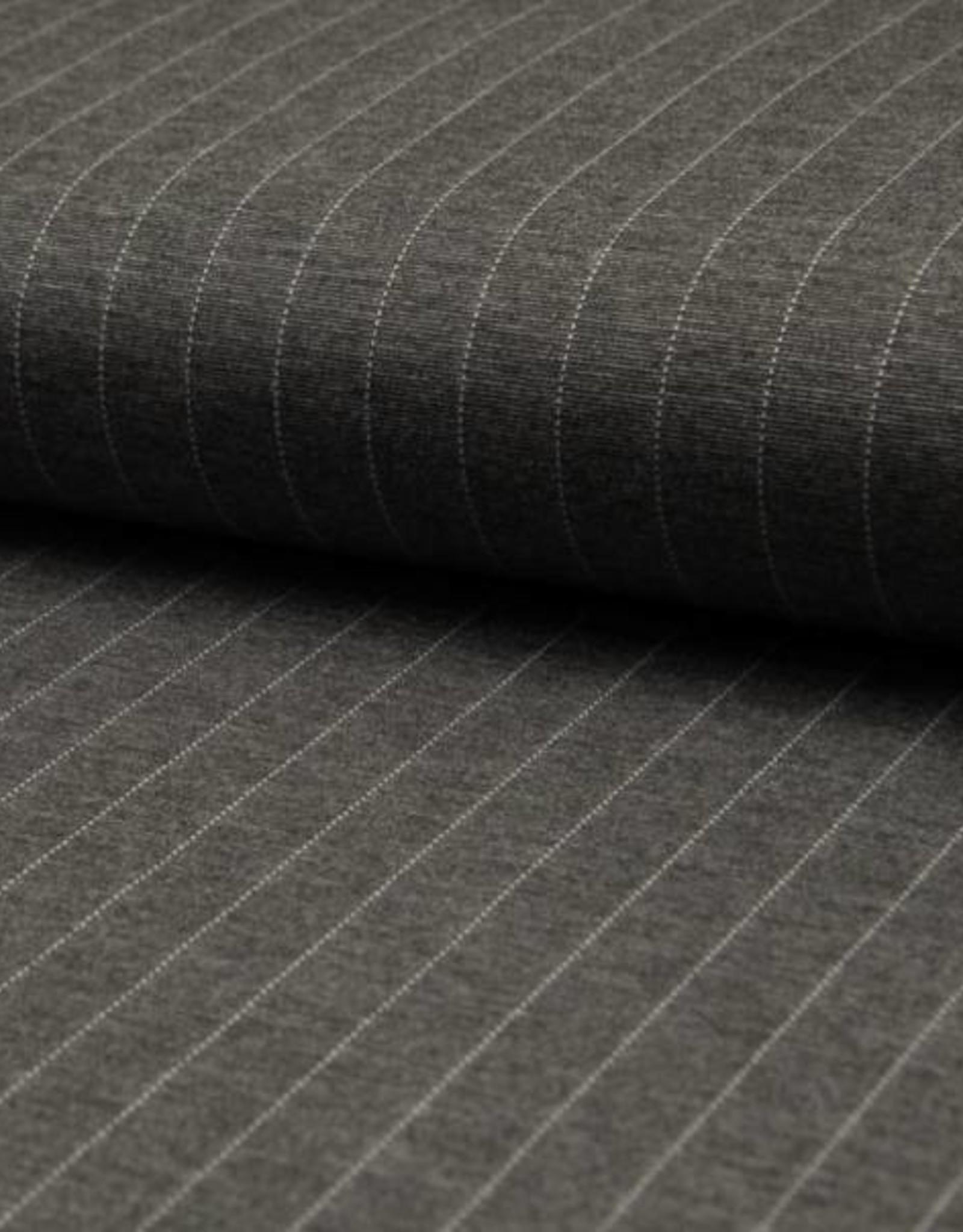 Punta Pin stripe grijs