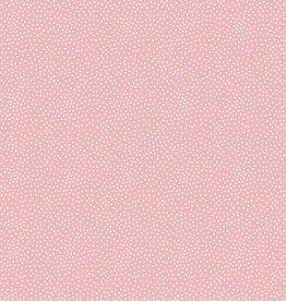 Poppy Tricot katoen Tiny dots roze
