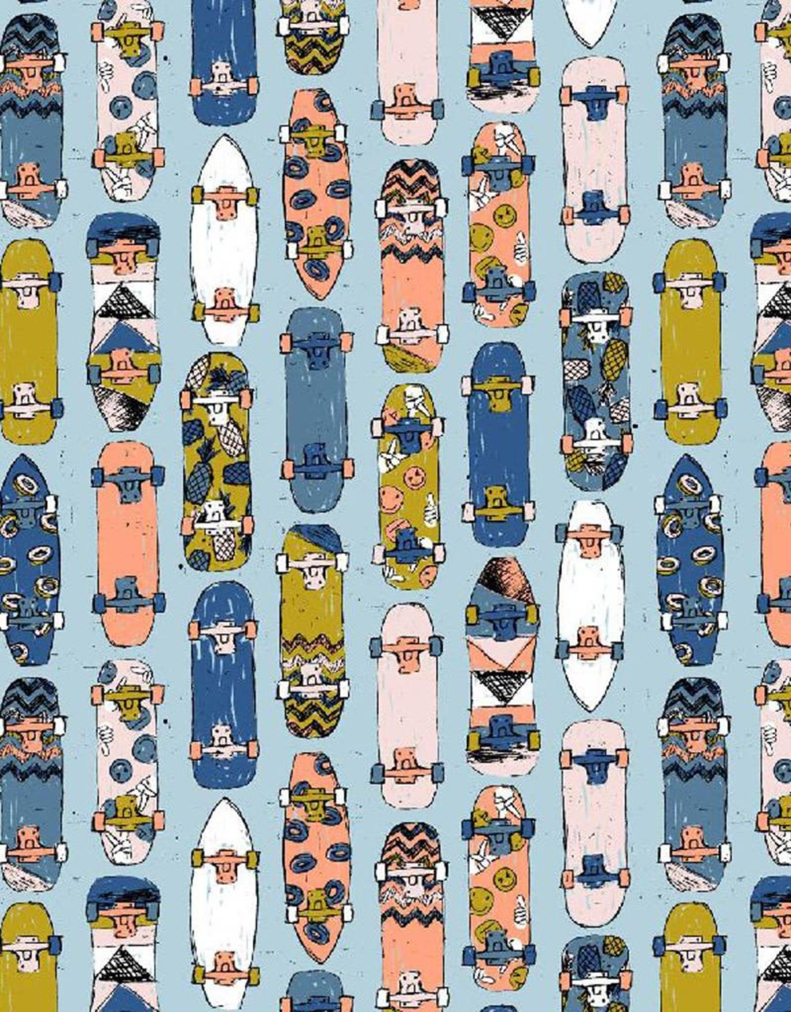 Poppy *Sweat cool skateboards blauw