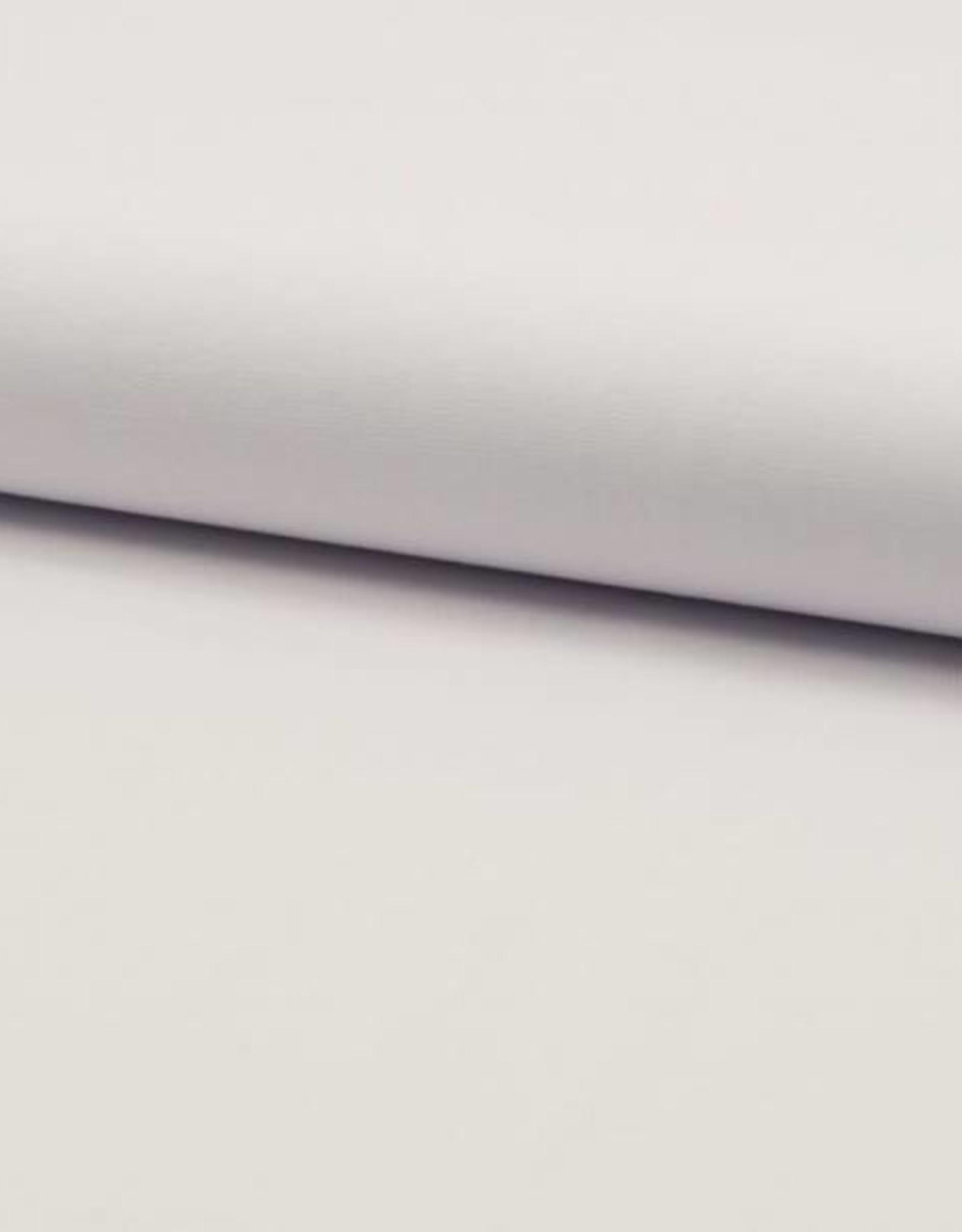 Poplin stretch uni optical white