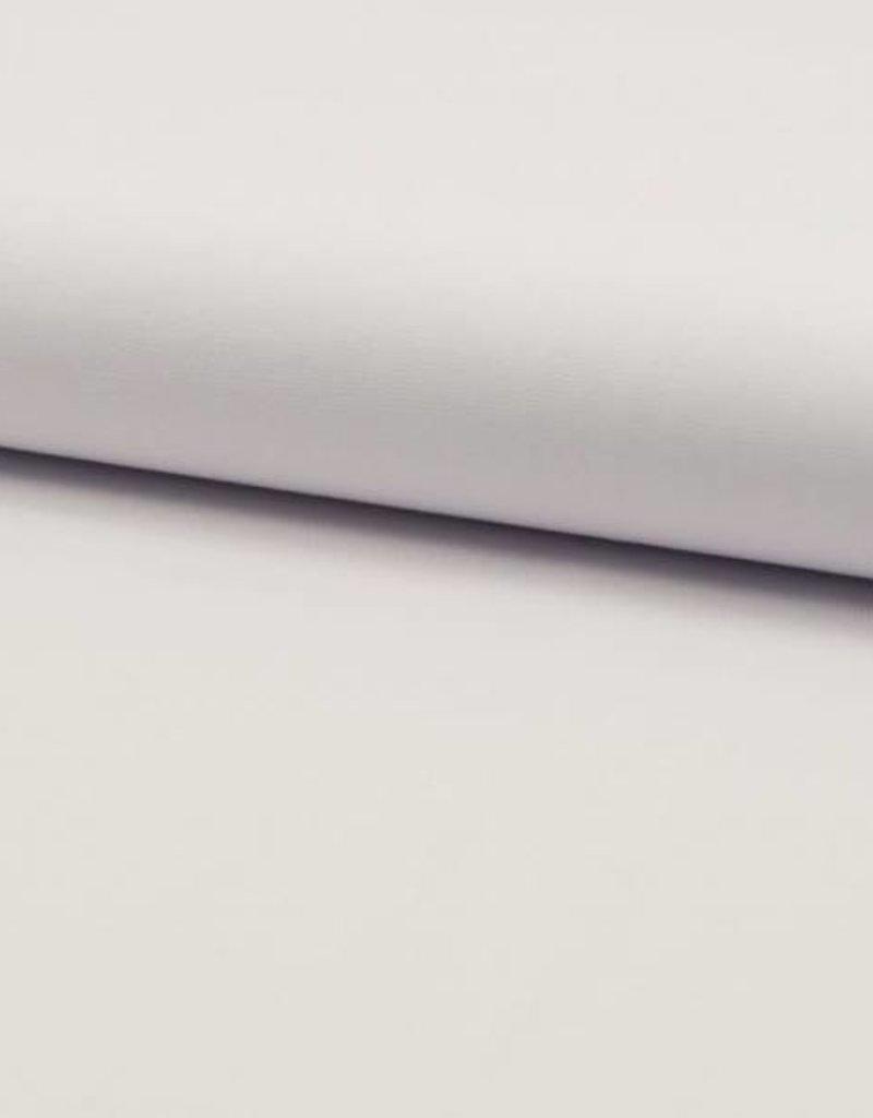 Poplin uni optical white