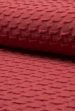 Jacquard highlow marsala