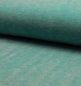 Jacquard 2 tone stripe
