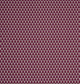 Swafing Tricot Viscose Kemuel by Jolijou drops pink