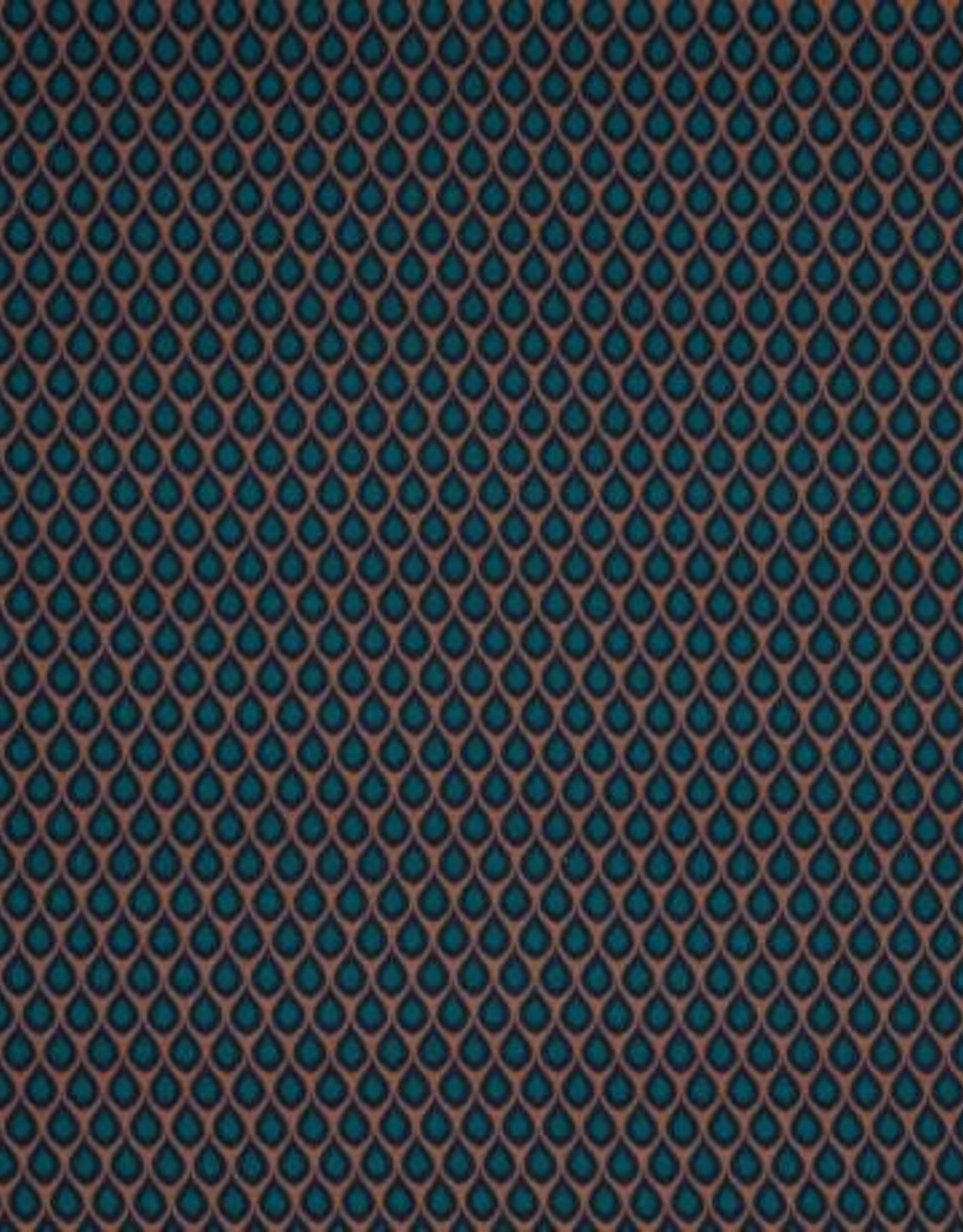 Swafing Tricot Viscose Kemuel by Jolijou drops green brown