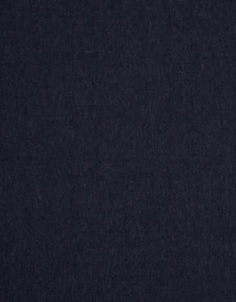 Tricot katoen jeans blauw